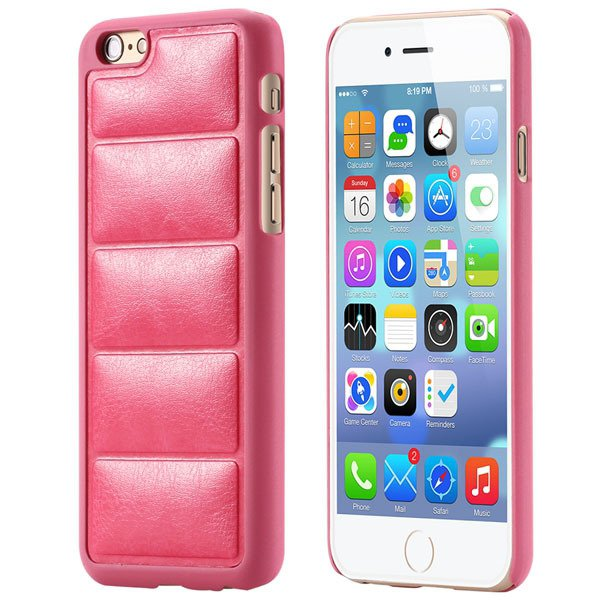 Ultra Slim Sofa Grain Soft Case For Iphone 6 4.7Inch Pu Leather Ph 32242323360-8-hot pink