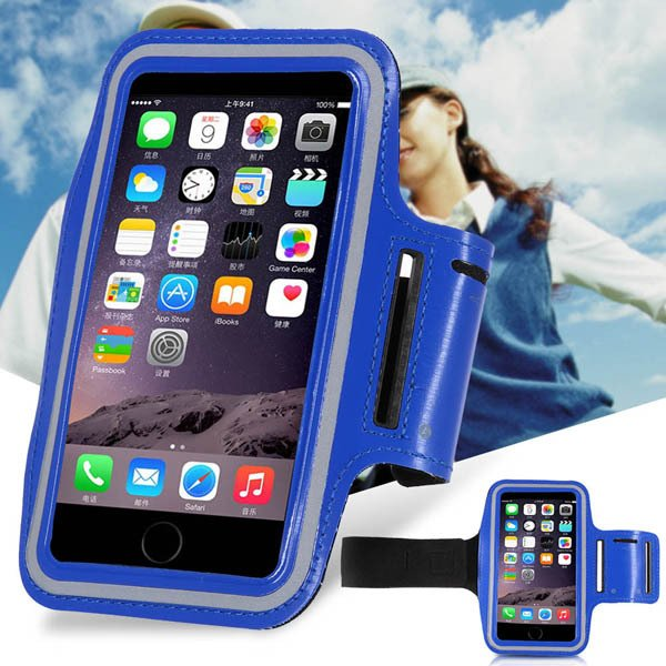 Noble Blue Phone Housing For Iphone 6 5.5Inch Armband Sports Worko 32238243771-1-