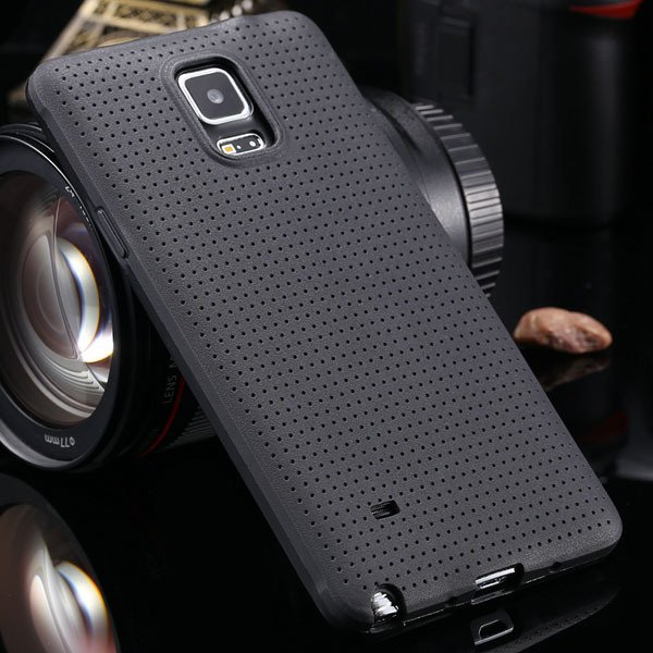For Note 4 Tpu Case Slim Back Cover For Samsung Galaxy Note 4 Iv N 2041770146-1-black