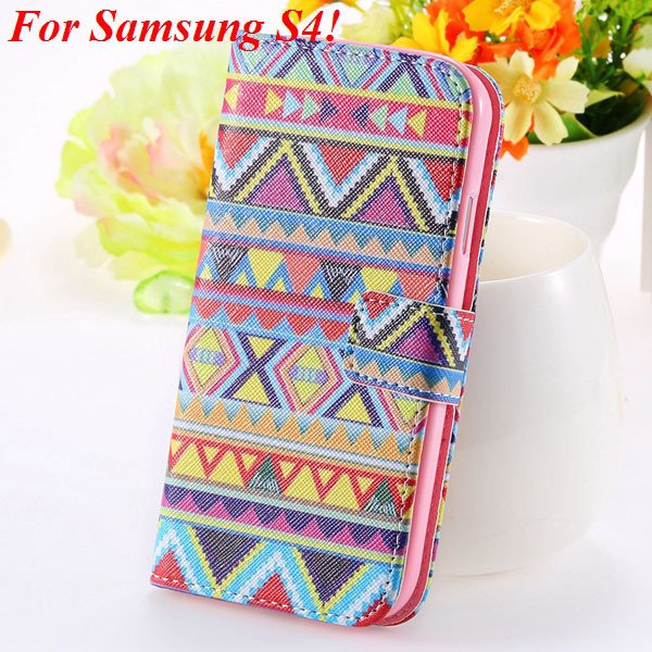 S5 S4 Case Flip Pu Leather Cover For Samsung Galaxy S5 I9600 S4 I9 1925680254-9-s4 big culture