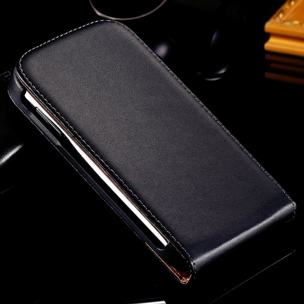 For Duos I9082 Genuine Leather Case Full Body Cover With Magnetic  1335985248-1-Black