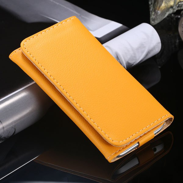 Multifunction Litchi Grain Case For Samsung Galaxy S5 S4 S3 For Ip 1869037687-2-yellow