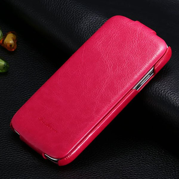 S4 Deluxe Pu Leather Case For Samsung Galaxy S4 S Iv I9500 Retro S 1771725043-4-hot pink