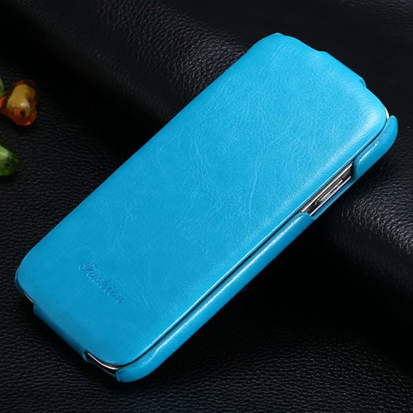 S4 Deluxe Pu Leather Case For Samsung Galaxy S4 S Iv I9500 Retro S 1771725043-6-blue