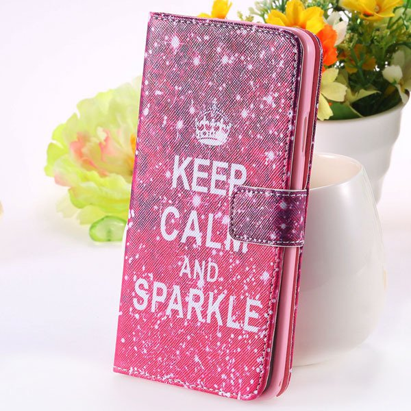 New Mat Pattern Pu Leather Case For Samsung Galaxy Note 3 Iii N900 1925915387-5-hot pink crown