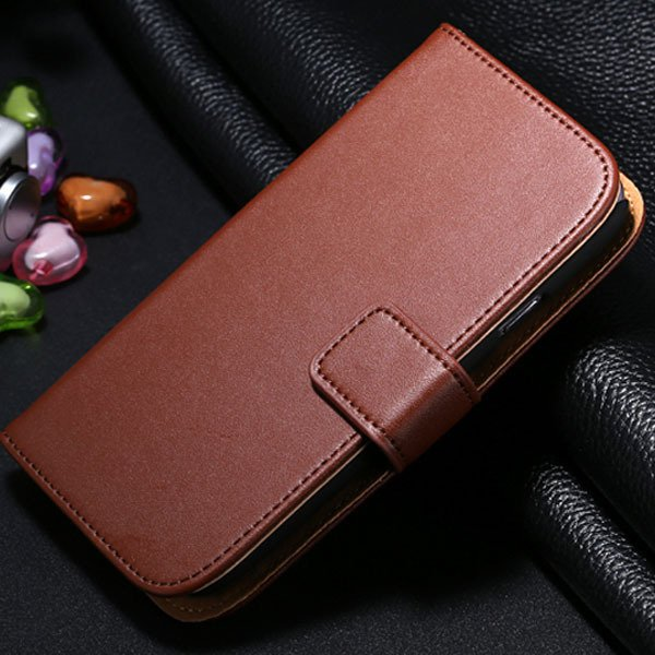 S3 Leather Case Stand Wallet Cover For Samsung Galaxy S3 I9300 Ful 1772158488-8-brown