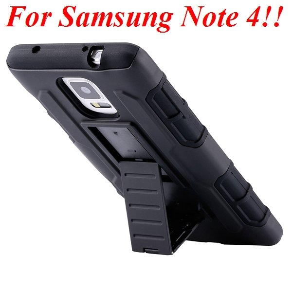 4 Styles Future Armor Hybrid Case Military 3 In 1 Combo Cover For  32281864894-4-Note 4 Style