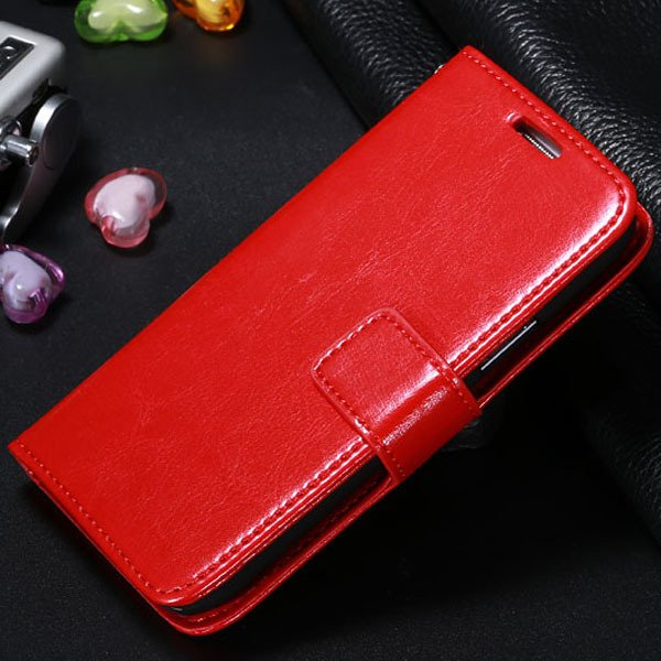 S4 Mini Pu Leather Case For Samsung Galaxy S4 Mini I9190 Full Wall 1771942507-3-red