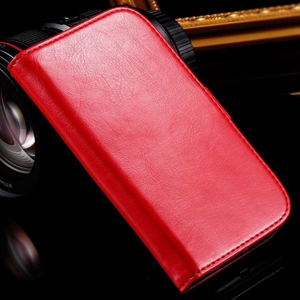 For Grand Duos I9082 Case Retro Pu Leather Cover For Samsung Galax 1064181420-3-red