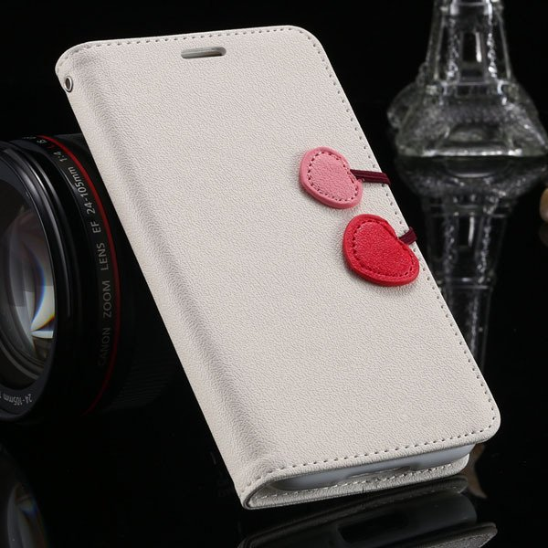 S4 Luxury Pu Leather Cover Wallet Bag With Card Slot For Samsung G 1810651625-5-white