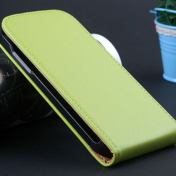 S4 Mini Genuine Leather Case Full Protect Cover For Samsung Galaxy 32239970117-4-green