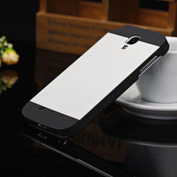 S4 Aluminum Metal Brush Back Case For Samsung Galaxy S4 Siv I9500  32237195497-1-white
