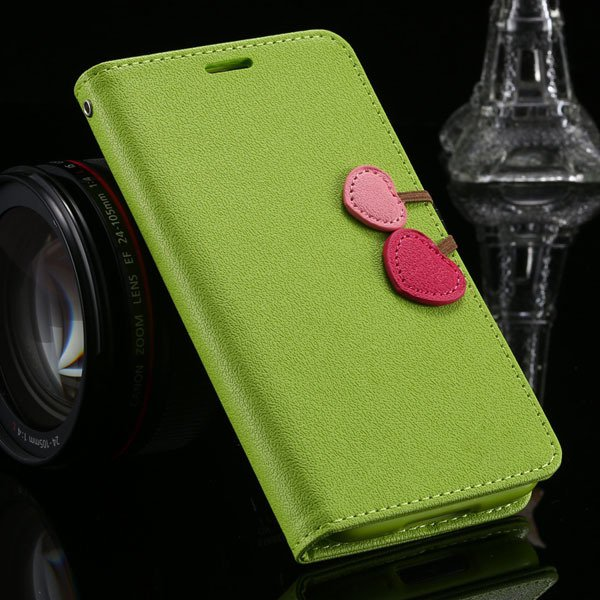 S3 Candy Color Pu Leather Case Full Protect Magnetic Buckle For Sa 1810592877-4-grass green