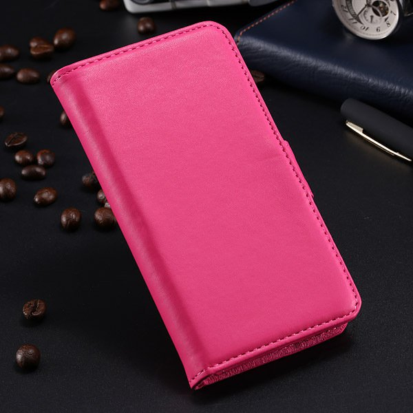 S5 Pu Leather Case For Samsung Galaxy S5 I9600 Flip Cover With Id  1790416343-3-hot pink