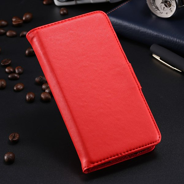 S5 Pu Leather Case For Samsung Galaxy S5 I9600 Flip Cover With Id  1790416343-5-red
