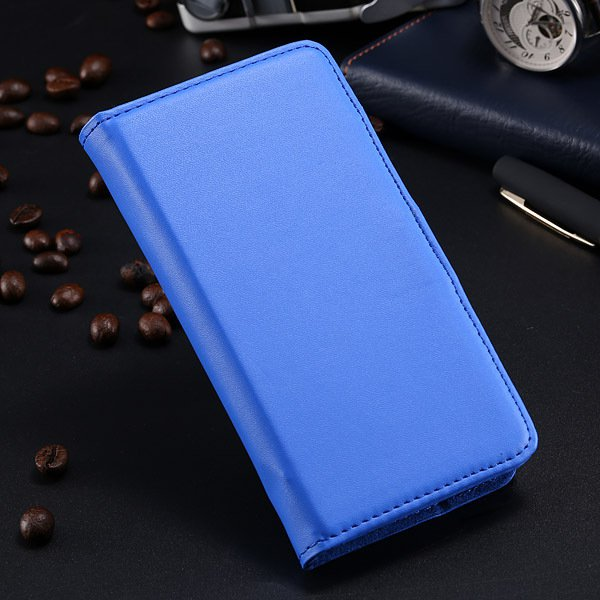 S5 Pu Leather Case For Samsung Galaxy S5 I9600 Flip Cover With Id  1790416343-6-blue