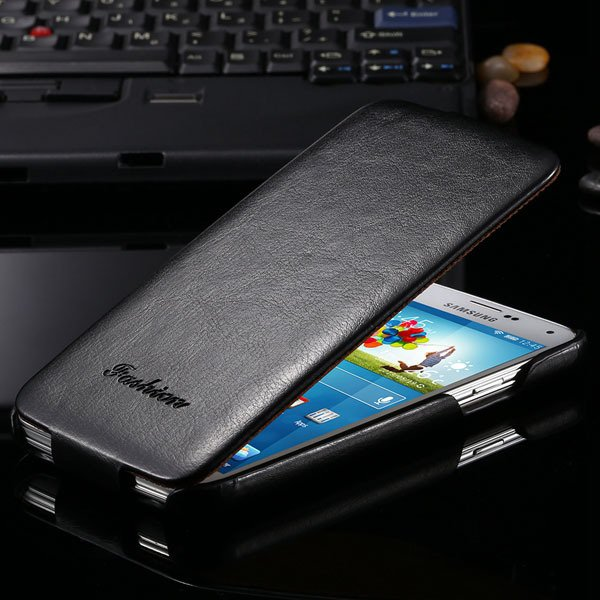 S5 Pu Leather Case Retro Flip Cover With Magnetic Buckle For Samsu 2024373909-1-black