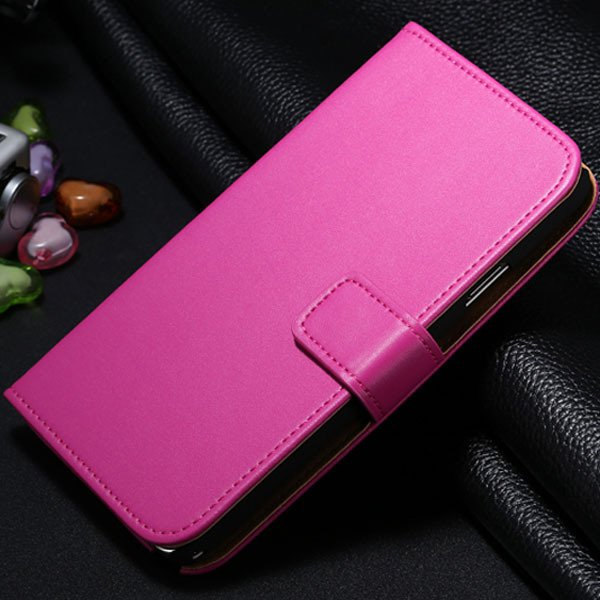 For Note 3 Genuine Leather Case For Samsung Galaxy Note 3 N9000 N7 1772279749-2-hot pink