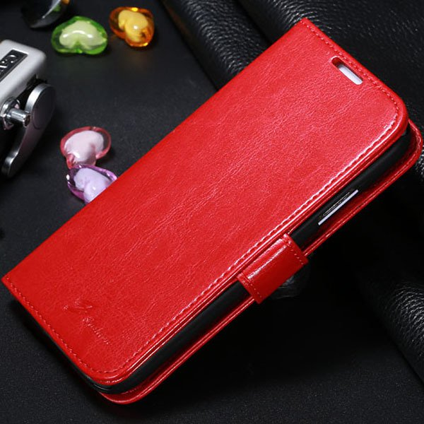 S4 Magnetic Flip Case For Samsung Galaxy S4 S Iv I9500 Full Protec 1770966738-3-red