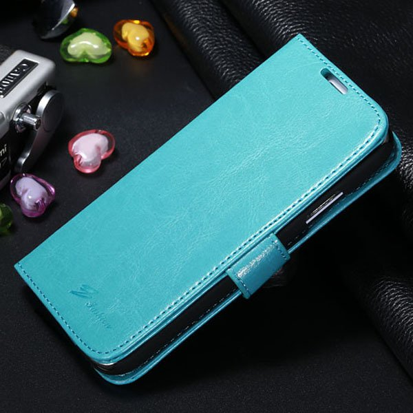S4 Magnetic Flip Case For Samsung Galaxy S4 S Iv I9500 Full Protec 1770966738-6-sky blue