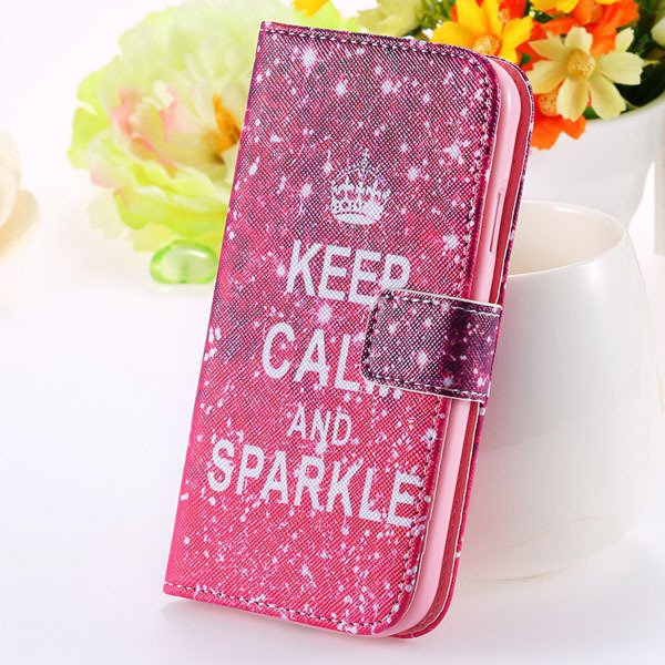 Special Mat Pu Leather Case For Samsung Galaxy S3 Siii I9300 Walle 1925776325-5-hot pink crown