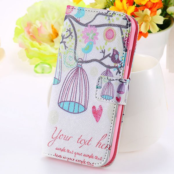 Special Mat Pu Leather Case For Samsung Galaxy S3 Siii I9300 Walle 1925776325-6-bird cage
