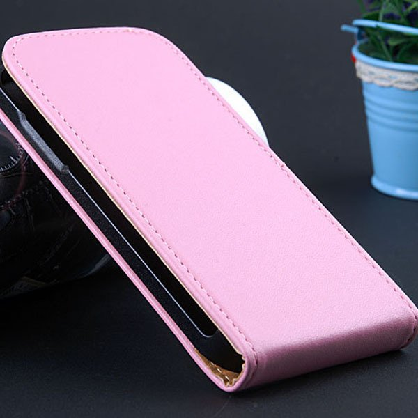 S4 Mini Flip Leather Case For Samsung Galaxy S4 Mini I9195 I9190 G 32240035795-6-pink