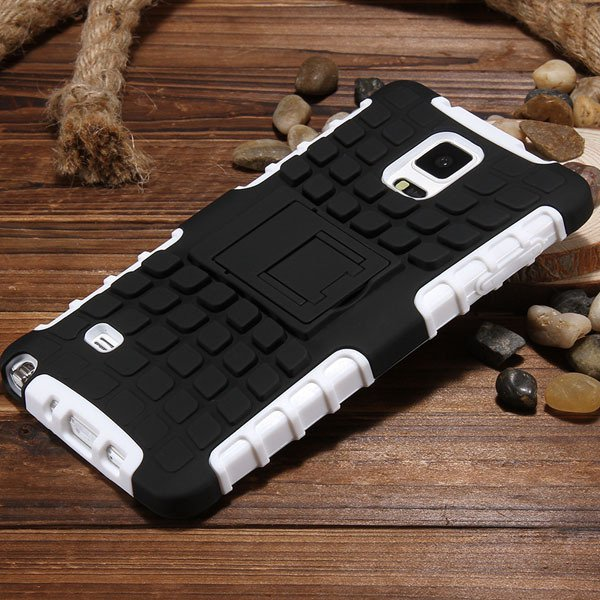 For Note 4 Heavy Duty Case Armor Cover For Samsung Galaxy Note 4 I 32273909003-7-white