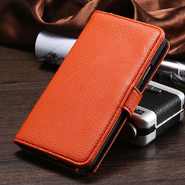 New Taste Flip Wallet Case For Samsung Galaxy Note 3 Iii N9000 N72 1925281934-4-orange
