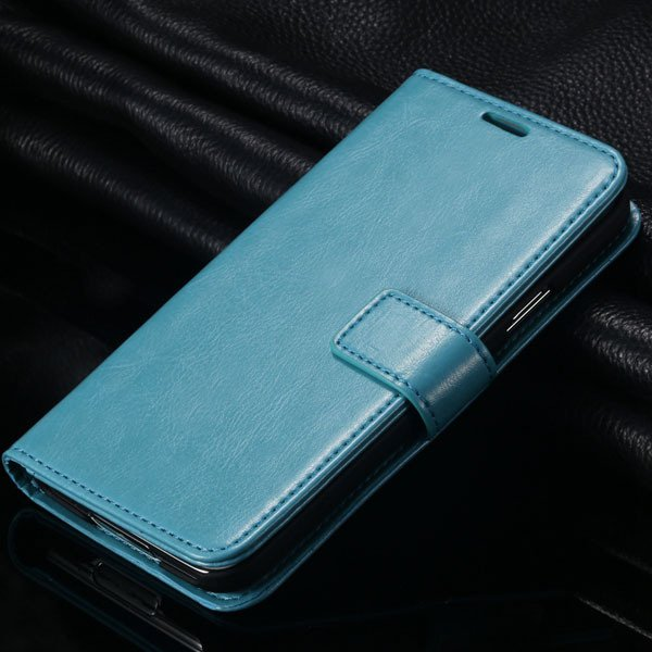 S5 Vintage Flip Case Pu Leather Cover For Samsung Galaxy S5 Sv I96 1823039273-4-light blue