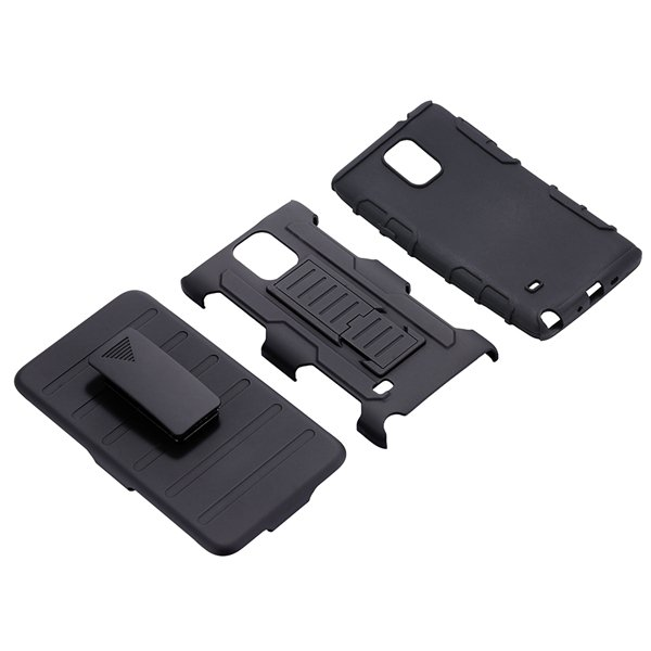 For Note 4 Future Armor Impact Hybrid Holster Case For Samsung Gal 32281832522-1-black