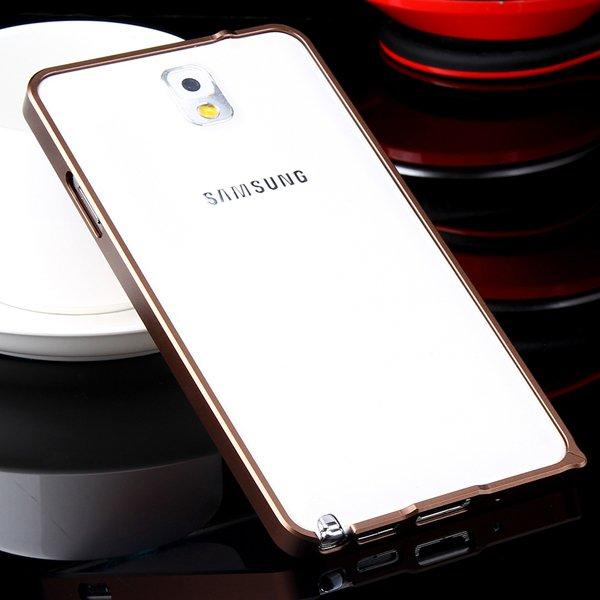 Luxury 0.7Mm Ultra Thin Slim Metal Frame Bumper For Samsung Galaxy 32247631233-2-brown