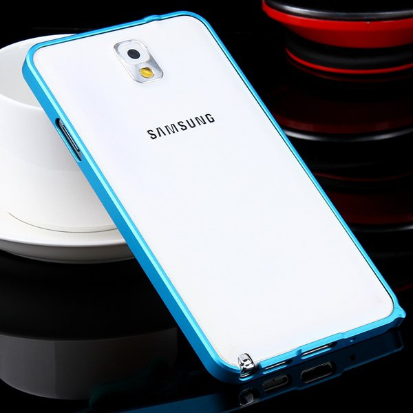 Luxury 0.7Mm Ultra Thin Slim Metal Frame Bumper For Samsung Galaxy 32247631233-10-light blue