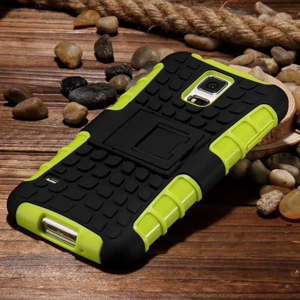 S5 Heavy Duty Case Armor Cover For Samsung Galaxy S5 Sv I9600 G900 32273877350-1-green