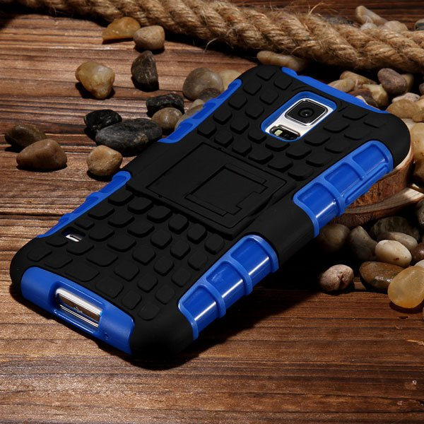 S5 Heavy Duty Case Armor Cover For Samsung Galaxy S5 Sv I9600 G900 32273877350-2-blue