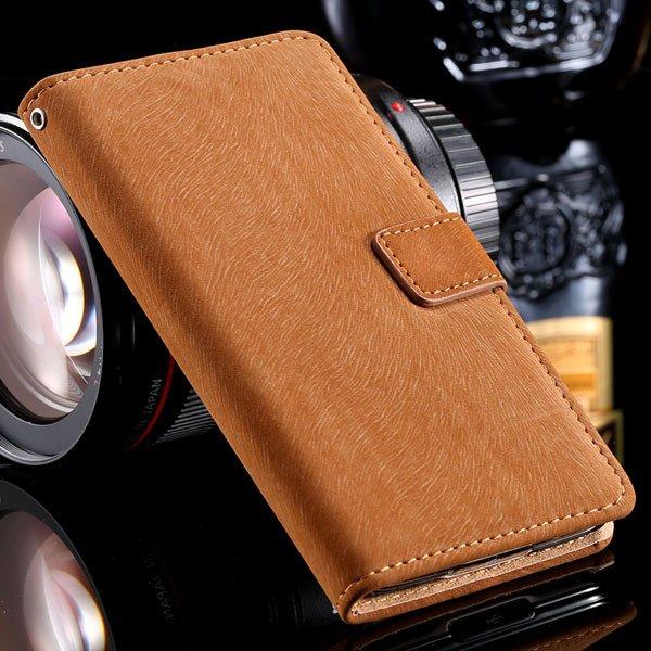 S5 Flip Case Premium Full Cover For Samsung Galaxy S5 Sv I9600 Sha 32261153054-2-brown