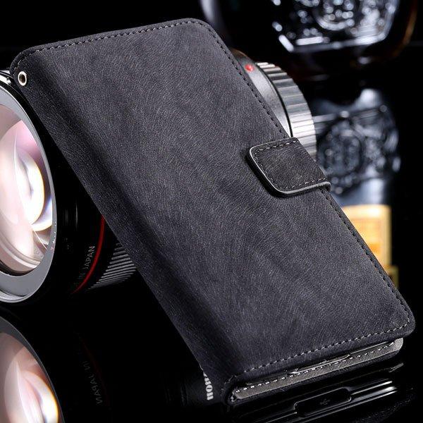 S5 Flip Case Premium Full Cover For Samsung Galaxy S5 Sv I9600 Sha 32261153054-5-black