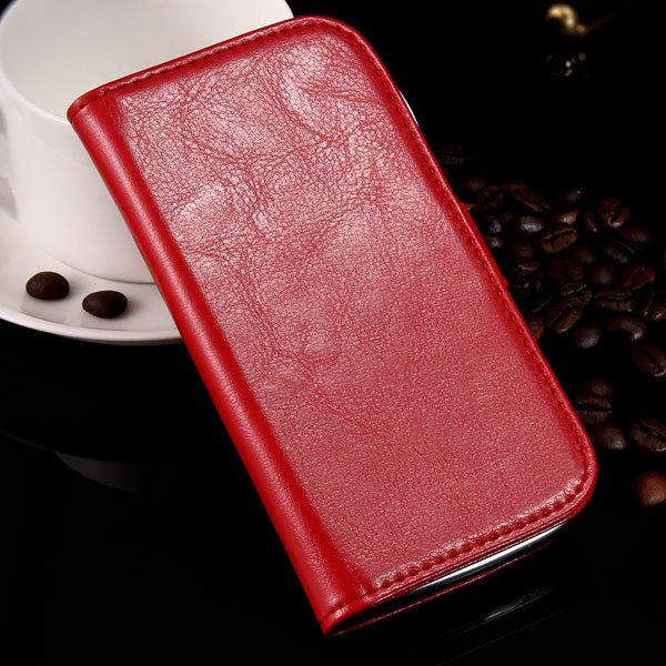 S3 Luxury Pu Leather Case Retro Wallet Book Cover For Samsung Gala 1064181443-3-red