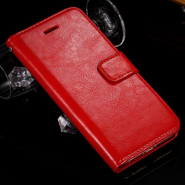 S3 Flip Wallet Case Vintage Full Cover For Samsung Galaxy S3 Siii  32284516358-3-red