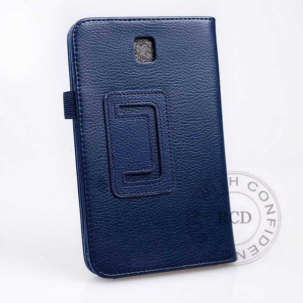 Flip Stand Full Case For Samsung Galaxy Tab 3 P3200 7.0 Elegant Pu 1138274901-3-blue