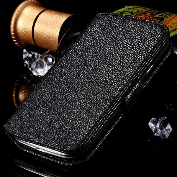 S3 Flip Wallet Case Pu Leather Cover For Samsung Galaxy S3 S Iii I 1064100504-1-black