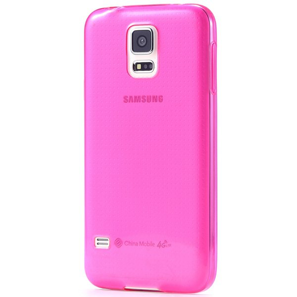 S5 Clear Tpu Case 0.3Mm Soft Rubber Back Cover For Samsung Galaxy  32297857781-4-rose