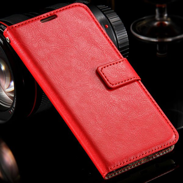 For Galaxy A7 Leather Case Full Protect Cover For Samsung Galaxy A 32303228550-3-red