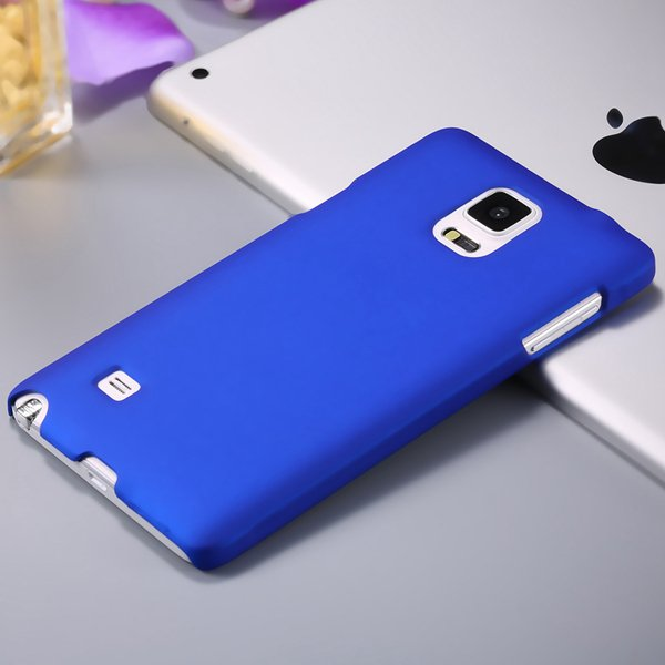 Note 4 Luxury Back Case Lubricating Smooth Hard Pc Cover For Samsu 32282032233-3-blue