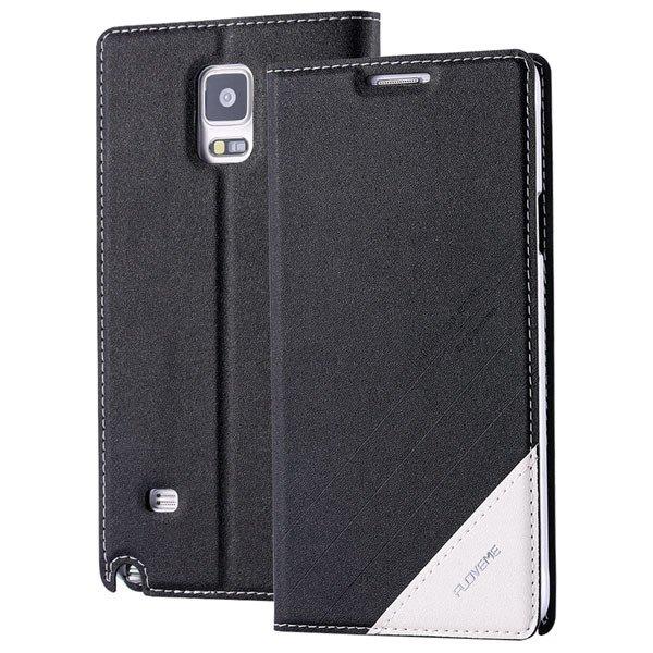 For Note 4 Wallet Case Original Magnetic Flip Cover For Samsung Ga 32266848553-1-black