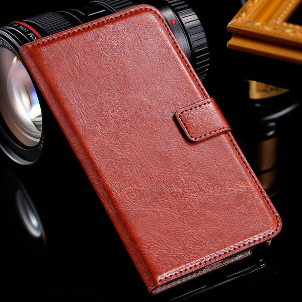 Note 3 Luxury Pu Leather Case Pouch Wallet Book Cover For Samsung  1771068570-4-brown