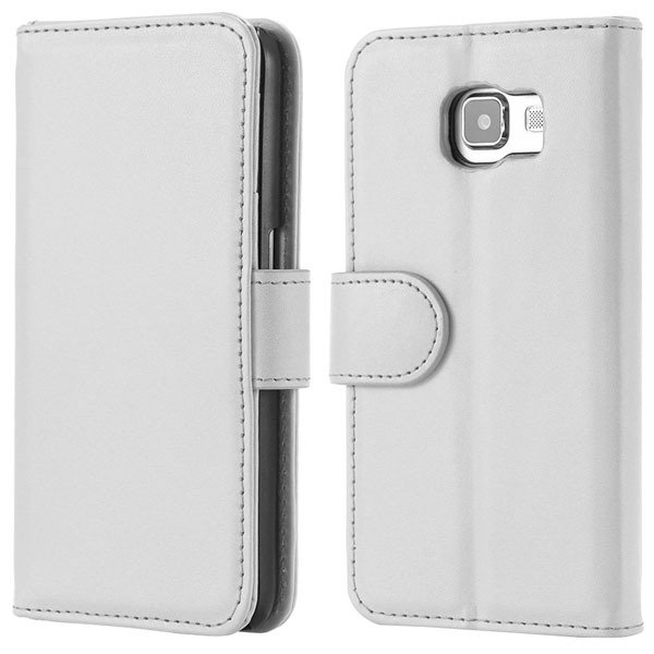 S6 Flip Pu Leather Cover Luxury Full Protect Skin Case For Samsung 32299079566-3-white