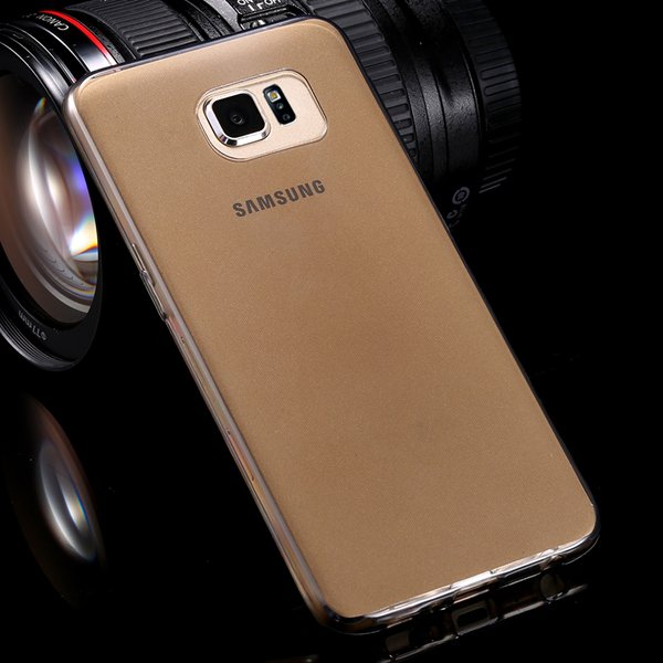 S6 Flexible Tpu Clear Case 0.3Mm Super Thin Back Cover For Samsung 32299284919-1-black
