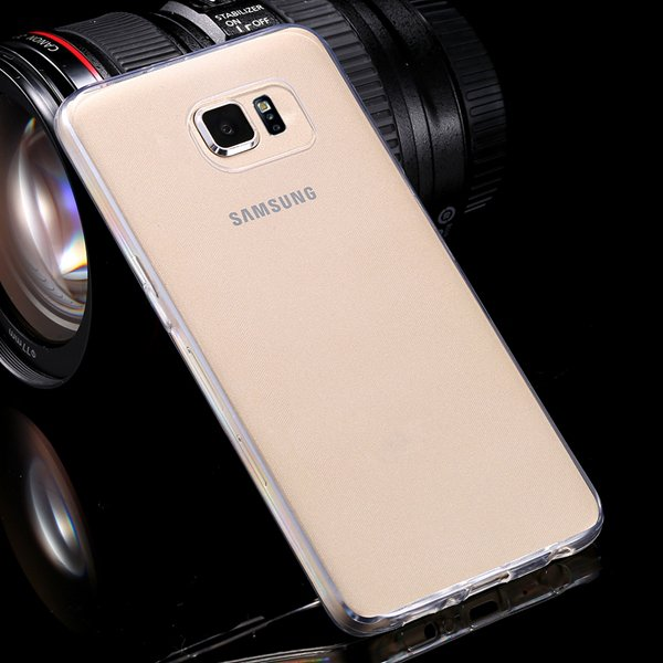 S6 Flexible Tpu Clear Case 0.3Mm Super Thin Back Cover For Samsung 32299284919-3-clear