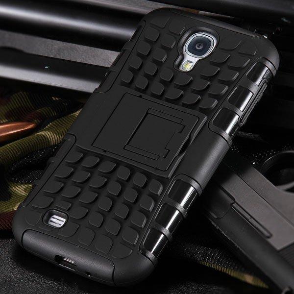 S4 Armor Heavy Duty Hard Cover Case For Samsung Galaxy S4 Siv I950 32303818869-1-black
